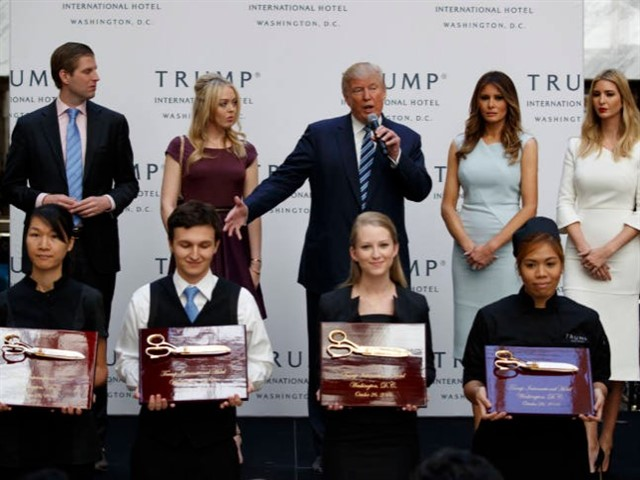 Weeks before Election Day 2016, Trump announced that he would be overseeing the grand opening of his new hotel in Washington, DC. He also mentioned that he would be putting everyone's concerns over his questioning of former President Obama's citizenship to rest.But the media's excitement quickly turned to dismay as they were forced to cover multiple decorated war veterans endorsing Trump before the presidential candidate even took the stage.By the time Trump finally arrived to give his remarks, the media had long since realized that they had been brutally rickrolled and perhaps weren't surprised when Trump dedicated 270 words to the opening of his hotel and only 67 words to the issue of Obama's birth certificate. But prepared or not, a trolling like that has got to sting.