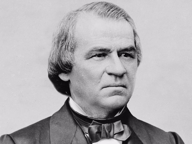 Andrew Johnson only became president because he was the vice president at the time of Lincoln's assassination. He inherited a divided country that was recovering from the just-concluded Civil War. Tensions were high, and there were fears that another civil war was in the works. President Johnson himself did not help matters. He was an unrefined, sulky, and bad-tempered racist who blamed everyone except himself for his problems. Politicians described him as someone who was worse than one could have ever thought. He often fought with Congress and once called for the lynching of a congressman. Another time, he got drunk and compared himself to Jesus.