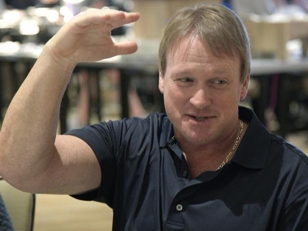 Somerecent moves:* Releasing mercurial punter Marquette King*Releasing mercurial wide receiver Michael Crabtree* Signing wide receiver Jordy Nelson* Signing tailback Doug Martin.  Brought back Marshawn Lynch, paying the veteran a $1 million roster bonus in March.Will the 2nd Gruden Era do a success of failure?