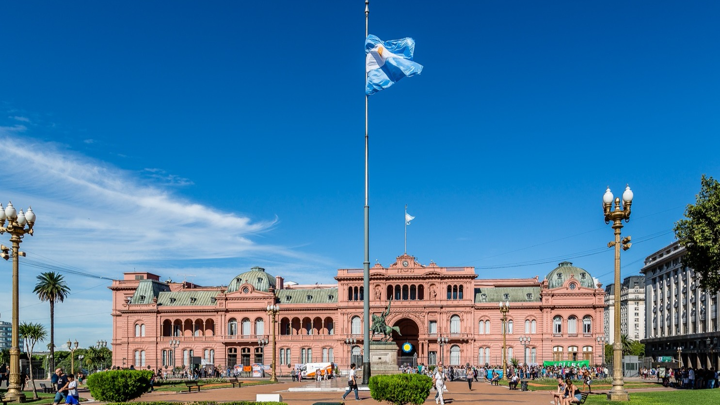 Spanning an area of 2,780,400 square km, Argentina is the 8th largest country in the world. It is the third richest country in South America in terms of GDP per capita at $20,170 USD and the second largest country in the continent by GDP (PPP) at $879.4 billion USD. The country is located in the continent's southern part where it is bordered by Chile, Brazil, Bolivia, Paraguay, and Uruguay. It has an extensive coastline along the Atlantic Ocean to the east. As of 2010, the country had a population of 40,117,096.The economy of Argentina is based on the country's rich natural resources, export-oriented agriculture, an educated population, and a diversified industrial sector. The economic performance of the country has gone through several ups and downs in the past few decades. Currently, it is classified as a middle emerging economy. High rates of inflation, unequal distribution of wealth, and a high technical debt are barriers to the economic growth of the nation. The leading industries in Venezuela include beverages, motor vehicles, and auto parts, leather, textiles, food processing, pharmaceuticals, cement, furniture, etc.