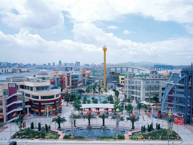 Dongguan, ChinaGross Leasable Area:7,100,000 sq. ft.