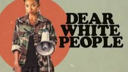 Dear White People is a 2014 American[4] comedy-drama film,[5][6] written, directed and co-produced by Justin Simien. The film focuses on escalating racial tensions at a fictitious, prestigious Ivy League college from the perspective of several black students. It stars Tyler James Williams, Tessa Thompson, Teyonah Parris, Brandon P. Bell, Kyle Gallner, Brittany Curran, Marque Richardson and Dennis Haysbert.The film premiered in competition in the US Dramatic Category at 2014 Sundance Film Festival on January 18, 2014.[7][8] The film had a theatrical release in United States on October 17, 2014.[9]In 2017, the film was adapted into a Netflix series of the same name, also with Simien's involvement.[5][6]https://en.wikipedia.org/wiki/Dear_White_People