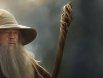 Gandalf /ˈɡændɑːlf/[2] is a fictional character and one of the protagonists in J. R. R. Tolkien's novels The Hobbit and The Lord of the Rings. He is a wizard, member of the Istari order, as well as leader of the Fellowship of the Ring and the army of the West. In The Lord of the Rings, he is initially known as Gandalf the Grey, but returns from death as Gandalf the White.[3]https://en.wikipedia.org/wiki/Gandalf