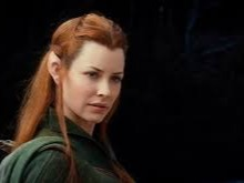 Tauriel is a fictional character from Peter Jackson's feature film adaptation of J.R.R. Tolkien's The Hobbit. The character does not appear in the original book, but was created by Peter Jackson, Philippa Boyens and Fran Walsh as an expansion of material adapted from the book, and first appears in the second and third films in that trilogy, The Hobbit: The Desolation of Smaug and The Hobbit: The Battle of the Five Armies.[1] She is a Woodland Elf whose name has been translated as