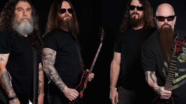 Slayer is an American thrash metal band from Huntington Park, California. The band was formed in 1981 by vocalist and bassist Tom Araya and guitarists Kerry King and Jeff Hanneman. Slayer's fast and aggressive musical style made them one of the founding