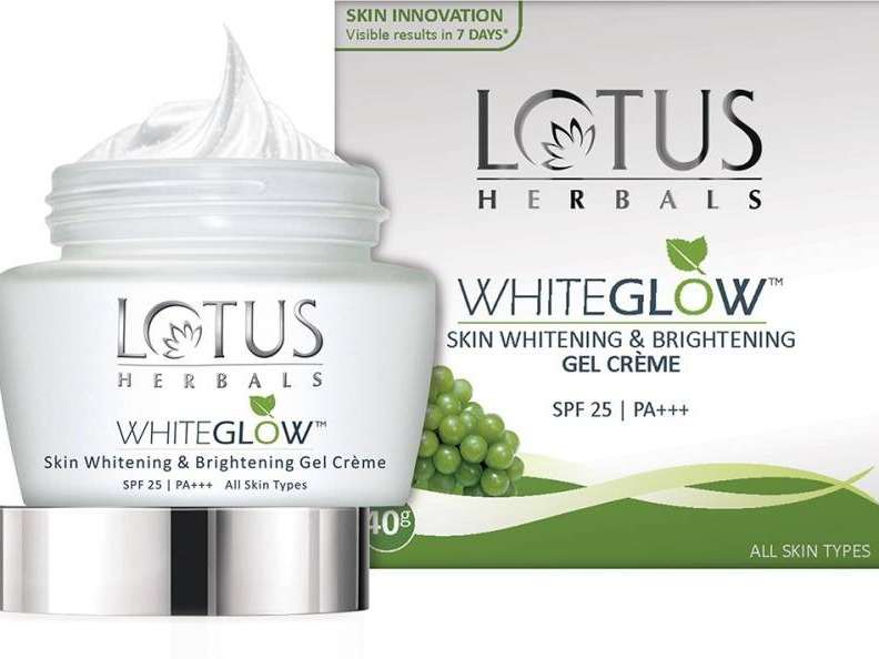 Lotus Herbals Skin Whitening And Brightening Gel Creme
