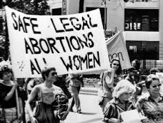 The Roe v. Wade case in 1973 protected a woman's right to abortion until viability.