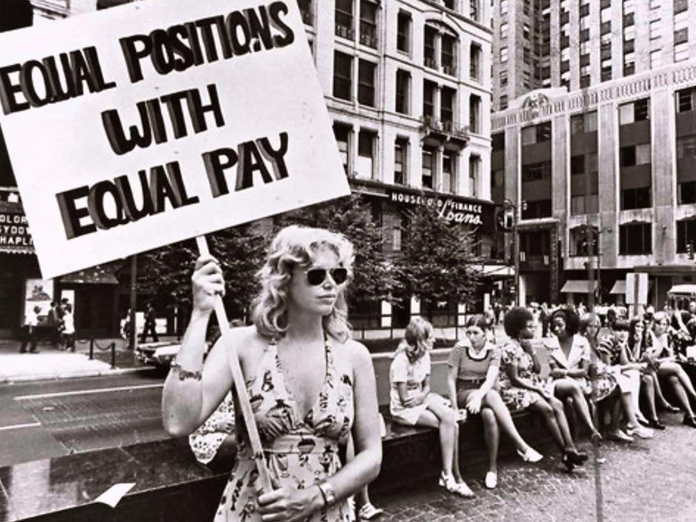 Until the Equal Credit Opportunity Act in 1974, women were not able to apply for credit. In 1975, the first women's bank was opened.