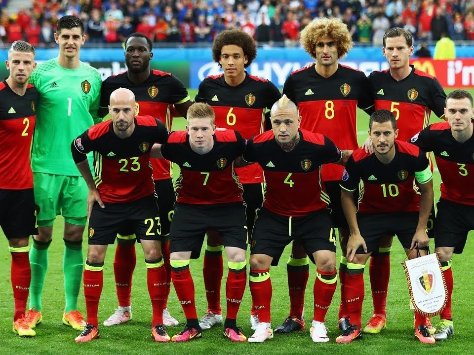 The Belgian national football team[D] has officially represented Belgium in association football since their maiden match in 1904. The squad is under the global jurisdiction of FIFA and is governed in Europe by UEFA—both of which were co-founded by the Belgian team's supervising body, the Royal Belgian Football Association (RBFA). Periods of regular Belgian representation at the highest international level, from 1920 to 1938, from 1982 to 2002 and again from 2014 onwards, have alternated with mostly unsuccessful qualification rounds. Most of Belgium's home matches are played at the King Baudouin Stadium in Brussels.