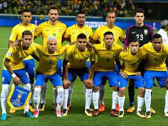 The Brazil national football team (Portuguese: Seleção Brasileira de Futebol) represents Brazil in international men's association football. Brazil is administered by the Brazilian Football Confederation (CBF), the governing body for football in Brazil. They have been a member of FIFA since 1923 and member of CONMEBOL since 1916.