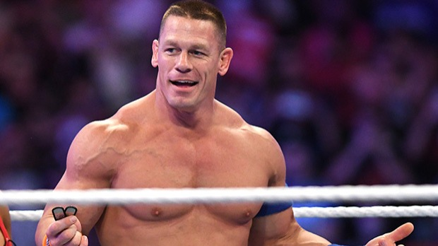 John Felix Anthony Cena Jr. (/ˈsiːnÉ™/; born April 23, 1977) is an American professional wrestler, actor, rapper and television host. He is currently signed to WWE, where he appears for both the Raw and SmackDown brands.Source: https://en.wikipedia.org/wiki/John_Cena
