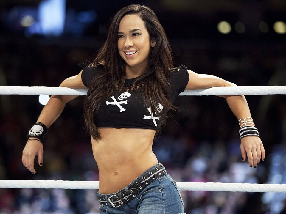 April Jeanette Mendez (born March 19, 1987) is an American author and retired professional wrestler. She is best known for her time in WWE under the ring name AJ Lee.Source: https://en.wikipedia.org/wiki/AJ_Lee