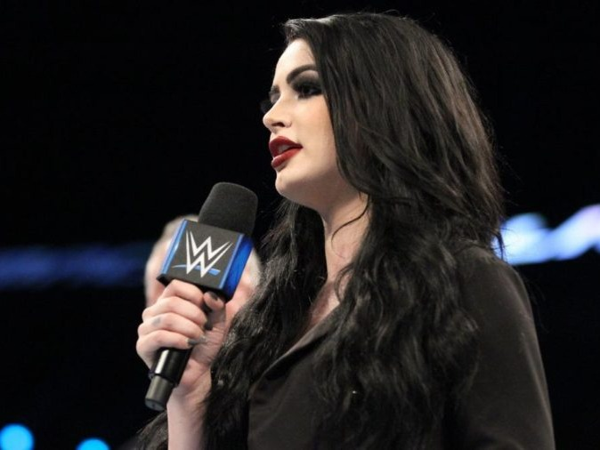 Saraya-Jade Bevis[12] (born 17 August 1992)[13] is an English retired professional wrestler and actress. She is signed to WWE under the ring name Paige, where she is the on-screen general manager of the SmackDown brand. Bevis is a two-time Divas Champion and was the inaugural NXT Women's Champion in WWE's developmental branch NXT, holding both championships concurrently at one time.Source: https://en.wikipedia.org/wiki/Paige_(wrestler)