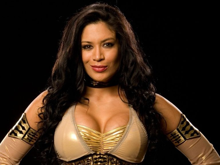 Melina Nava Perez[2] (born March 9, 1979) is an American model, professional wrestler and valet. She is best known for her time with WWE under the ring name Melina.Source: https://en.wikipedia.org/wiki/Melina_Perez