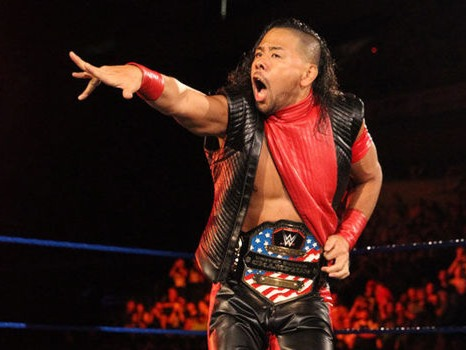 Shinsuke Nakamura (中邑 真輔 Nakamura Shinsuke, born February 24, 1980) is a Japanese professional wrestler and former mixed martial artist. He is signed to WWE, where he performs on the SmackDown brand and is the current United States Champion in his first reign. Prior to his main roster debut, Nakamura competed in WWE's developmental brand, NXT, where he is one of only two wrestlers (along with Samoa Joe) to have held the NXT Championship on more than one occasion. In January 2018, Nakamura won the 2018 Men's Royal Rumble match.Source: https://en.wikipedia.org/wiki/Shinsuke_Nakamura
