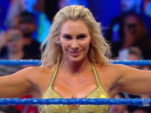 Ashley Elizabeth Fliehr[11][12] (born April 5, 1986) is an American professional wrestler, author and actress currently signed to WWE, where she performs on the SmackDown brand under the ring name Charlotte Flair.[7] A second generation professional wrestler, she is the daughter of two time Hall of Fame Ric Flair.Source:https://en.wikipedia.org/wiki/Charlotte_Flair