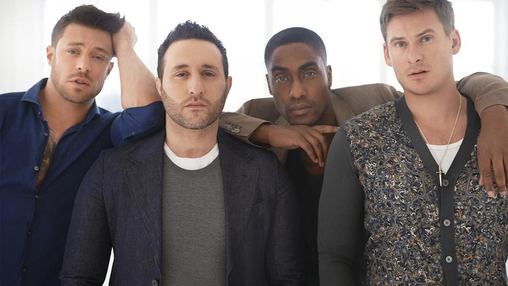 Blue is an English boyband consisting of members Antony Costa, Duncan James, Lee Ryan and Simon Webbe. The band originally formed in 2000 and has released three studio albums, All Rise (2001), One Love (2002) and Guilty (2003) that all peaked at number one in the United Kingdom alongside releasing 16 singles, over a four-year period. The group also worked alongside artists such as Stevie Wonder, Elton John and Lil' Kim. In late 2004, the group announced a hiatus and released their first compilation album, Best of Blue, on 15 November 2004.Source:https://en.wikipedia.org/wiki/Blue_(English_band)