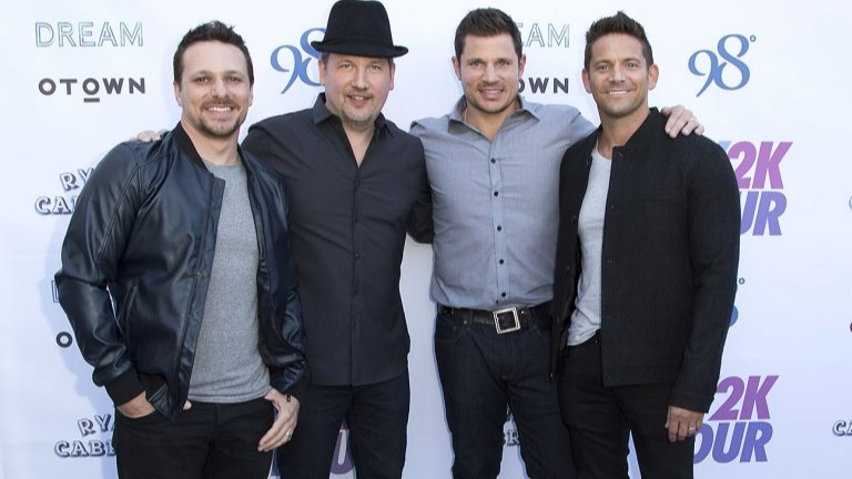 98 Degrees(stylized as98°) is an Americanpopandcontemporary R&Bvocal group consisting of four vocalists: brothersNickandDrew Lachey,Justin Jeffre, andJeff Timmons. The group was formed by Timmons inLos Angeles,California, although all of its members originate from Ohio.Source:https://en.wikipedia.org/wiki/98_Degrees