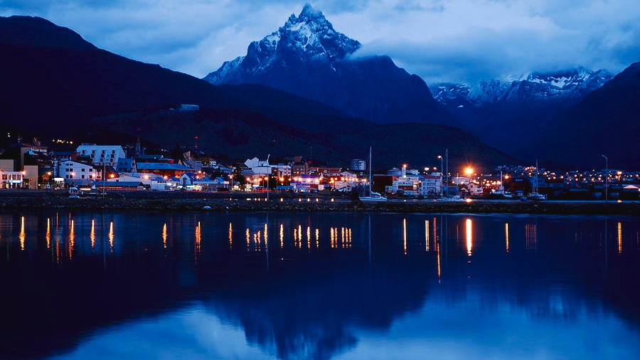 Ushuaia (/uːˈʃwaɪ.É™/; Spanish pronunciation: [uˈswaʝa]) is the capital of Tierra del Fuego, Antártida e Islas del Atlántico Sur Province, Argentina. It is commonly regarded as the southernmost city in the world.[2][3] Ushuaia is located in a wide bay on the southern coast of Isla Grande de Tierra del Fuego, bounded on the north by the Martial mountain range, and on the south by the Beagle Channel. It is the only municipality in the Department of Ushuaia, which has an area of 9,390 km2 (3,625 sq mi).Source: https://en.wikipedia.org/wiki/Ushuaia
