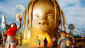 Astroworld (stylized in all caps) is the third studio album by American rapper Travis Scott. It was released on August 3, 2018, by Cactus Jack Records, Epic Records and Grand Hustle Records. The album follows his second studio album Birds in the Trap Sing McKnight (2016), and his collaborative album Huncho Jack, Jack Huncho (2017) with Quavo. The album features guest vocals from Kid Cudi, Frank Ocean, Drake, The Weeknd, James Blake, Swae Lee, Gunna, Philip Bailey, Nav, 21 Savage, Quavo, Takeoff, Juice Wrld, Sheck Wes and Don Toliver, among others. Production was handled by multiple producers, including Mike Dean, Allen Ritter, Hit-Boy, WondaGurl, Tay Keith, Tame Impala, Frank Dukes, Sonny Digital and Thundercat.Wikipedia