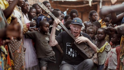 Lazarus is a short documentary following Lazarus Chigwandali, a street musician with Albinism from Malawi as he teams up with a London-based music producer to record his debut album. Tribeca Film Festival 2019