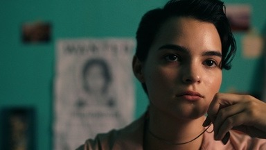 When notorious bank robber, the Momster (Amanda Plummer), catches her daughter Angel (Brianna Hildebrand) mid-gunfight, Angel thinks she's being rescued... until she realizes she has to do the saving.Tribeca Film Festival 2019