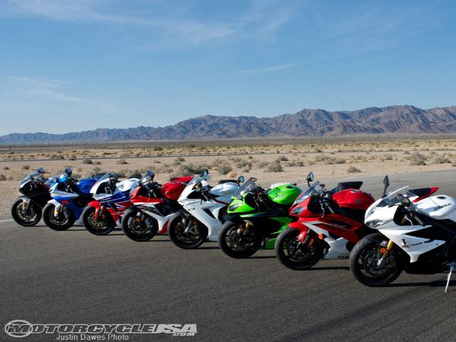 Aprilia RSV4 RR vs. BMW S1000RR vs. EBR 1190RX vs. Honda CBR1000RR vs. Kawasaki ZX-10R vs. Suzuki GSX-R1000 vs. Yamaha YZF-R1 vs KTM 1190 RC8