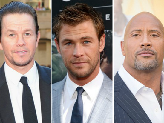 From Mark Wahlberg to The Rock, these celebs got the biggest paychecks last year.