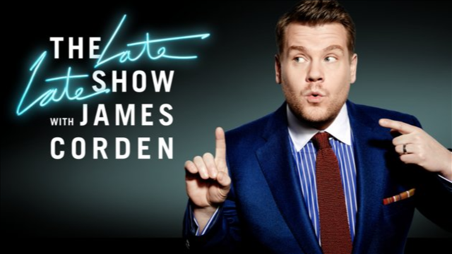 Broadway, television and film star James Corden takes over the reins of the late-late-night franchise at CBS from fellow U.K. import Craig Ferguson. The British performer -- whose previous hosting gigs include five years of The Brit Awards -- puts his charm, warmth and creative instincts to use as he interviews celebrities and newsmakers, and hosts musical performances in his post-