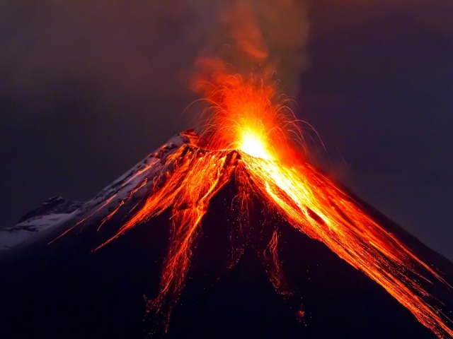 A volcano is a conduct that communicate the lowers levels of the crust with the surface. The definition of a dangerous volcano is a volcano that could erupt at any time with great deadly power. In many times, the human civilization built their cities around of this big, powerful mountain without knowledge of who their neighbor was, so when the volcano activity began, it was too late for them to run and many people died or lost their home.