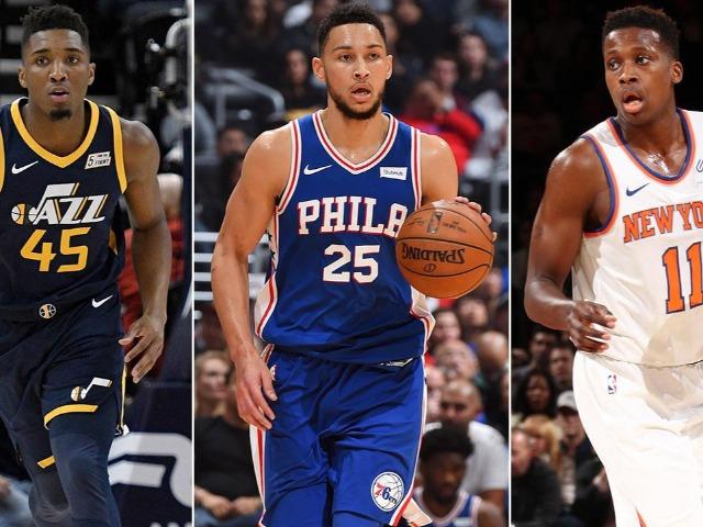 NBA top rookies of 2018.