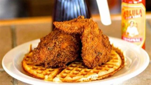 Top 9 great chicken and waffle joints in Los Angeles.