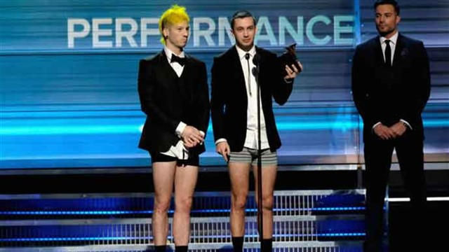 The Grammy Award for Best Pop Duo/Group Performance is an award presented at the Grammy Awards, a ceremony that was established in 1958 and originally called the Gramophone Awards.[1] According to the 54th Grammy Awards description guide it is designed for pop recordings by duo/groups or collaborative performances (vocal or instrumental) and is limited to singles or tracks only.[2]It was one of several new categories for the annual Grammy Awards ceremony to start from 2012. It combines the previous categories for Best Pop Collaboration with Vocals, Grammy Award for Best Pop Performance by a Duo or Group with Vocals and Best Pop Instrumental Performance. The restructuring of these categories was a result of the Recording Academy's wish to decrease the list of categories and awards and to eliminate the distinctions between collaborations and duo or groups.Wikipedia