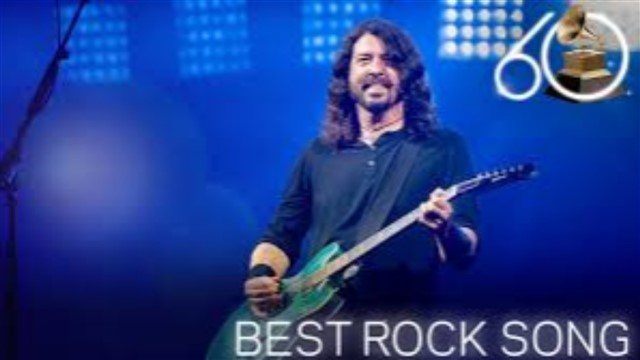 The Grammy Award for Best Rock Performance is an award presented at the Grammy Awards, a ceremony that was established in 1958 and originally called the Gramophone Awards.[1] According to the 54th Grammy Awards description guide it is designed for solo, duo/groups or collaborative (vocal or instrumental) rock recordings and is limited to singles or tracks only.[2]This award combines the previous categories for Best Solo Rock Vocal Performance, Best Rock Performance by a Duo or Group with Vocal and Best Rock Instrumental Performance. The restructuring of these categories was a result of the Recording Academy's wish to decrease the list of categories and awards and to eliminate the distinctions between solo and duo/groups performances. The Academy argued that any distinction between these performances is difficult to make, as