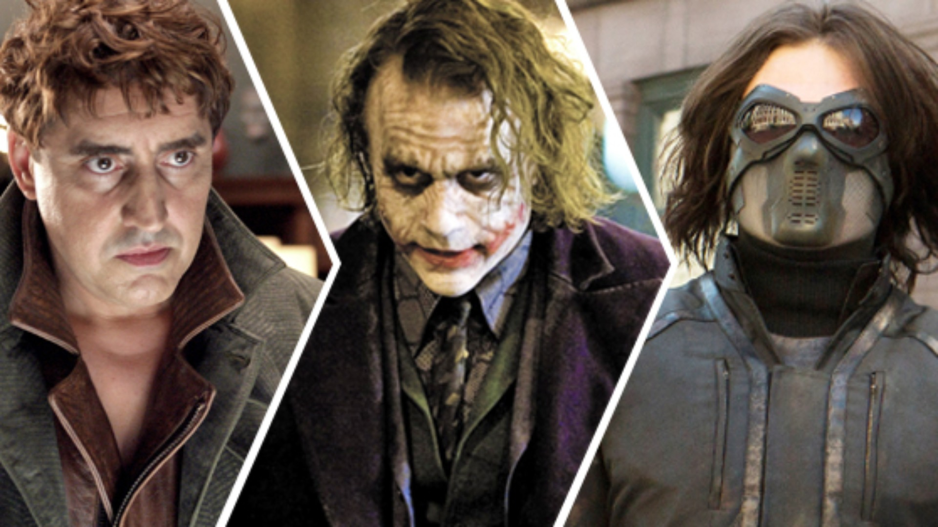 Top movie villains of all time.